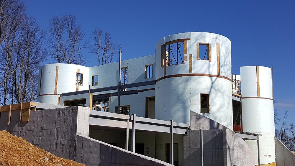 circular home using icf